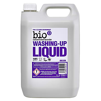 Bio-D Concentrated  Washing-up Liquid with Lavender - 5L