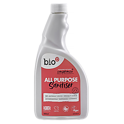 Bio-D All Purpose Sanitiser Spray Refill