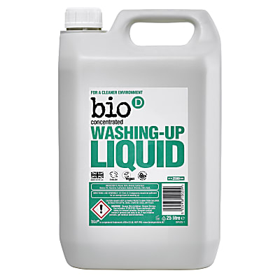 Bio-D Concentrated Washing Up Liquid 5L