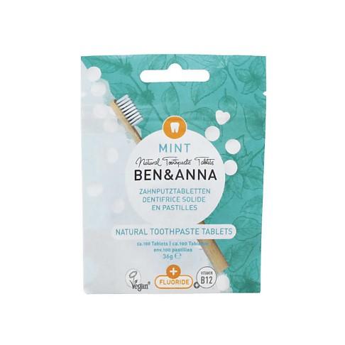 Ben & Anna Toothpaste Tablets (fluoride)