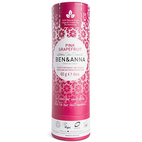 Ben Amp Anna Deodorant Stick Pink Grapefruit