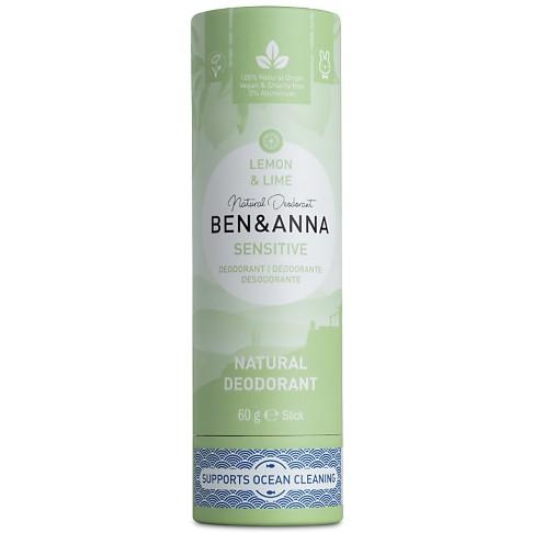 Ben & Anna Deodorant Sensitive - Lemon & Lime