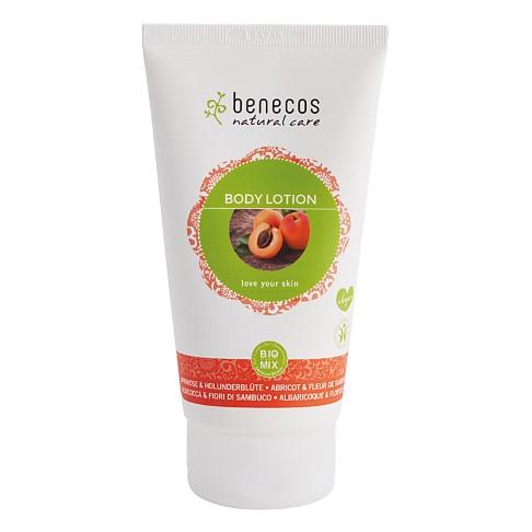 Benecos Natural Body Lotion - Apricot & Elderflower