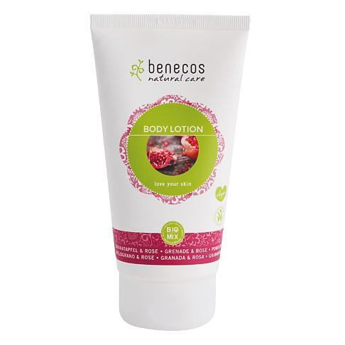 Benecos Natural Body Lotion - Pomegranate & Rose