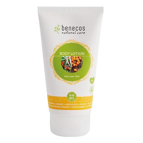 Benecos Natural Body Lotion - Sea Buckthorn and Orange