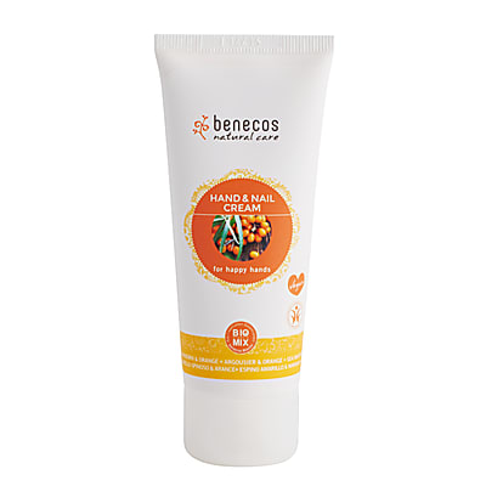 Benecos Natural Hand and Nail Cream - Sea Buckthorn and Orange