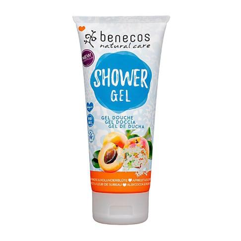 Benecos Natural Shower Gel - Apricot & Elderflower