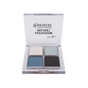 Benecos Natural Quattro Eyeshadow True Blue
