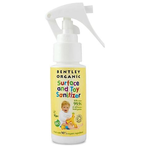 Bentley Organic Surface & Toy Sanitiser - Travel Size (50ml)