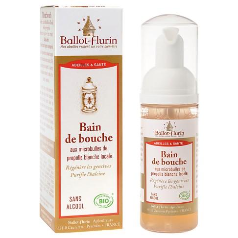 Ballot Flurin Organic Mouthwash - White Propolis