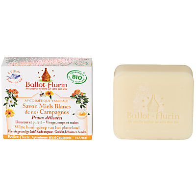 Ballot Flurin - White honey soap from our countrysides