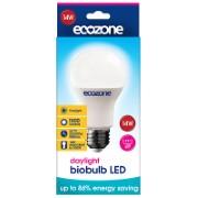 Ecozone Biobulb LED E27 Screw Fitting Daylight Bulb 14 watts