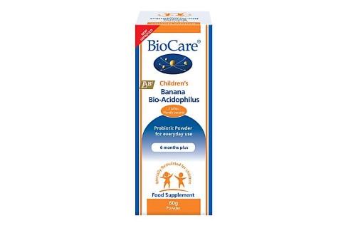 BioCare Children's Banana BioAcidophilus (Probiotic) 60g
