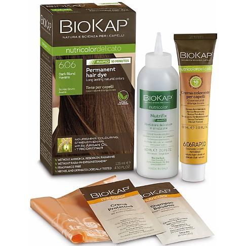 BIOKAP Dark Blond Havana 6.06 Rapid Hair Dye