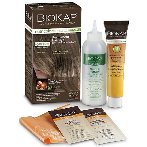 BIOKAP Swedish Blonde 7.1 Rapid Hair Dye