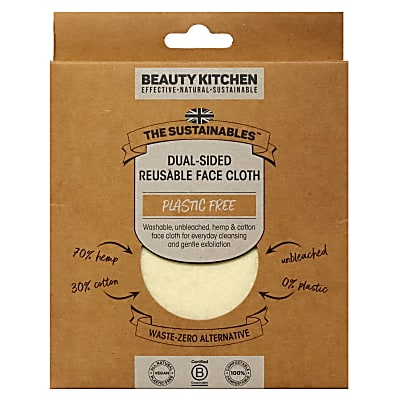Beauty Kitchen Dual-Sided Reusable Face Cloth