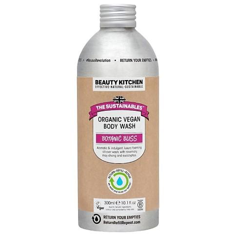 Beauty Kitchen The Sustainables Botanic Bliss Organic Vegan Body Wash