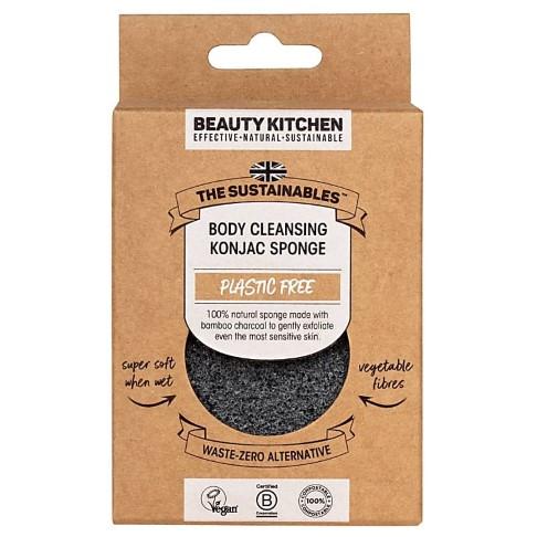 Beauty Kitchen Fragrance Free Body Cleansing Konjac Sponge