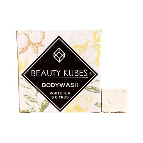 Beauty Kubes Body Wash - White Tea and Citrus