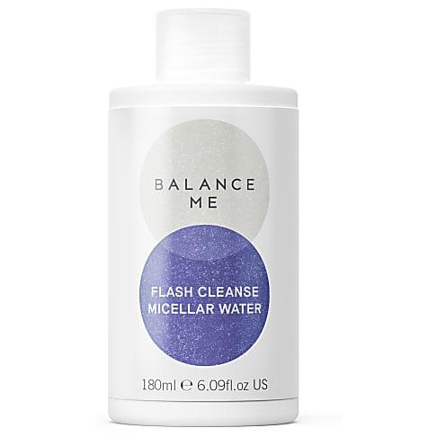 Balance Me Cleanse + Refresh Flash Cleanse Micellar Water