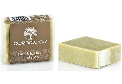 Barenaturals Herb & Tea Tree Facial Soap