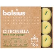 Bolsius Citronella Tea Lights - 18 pack