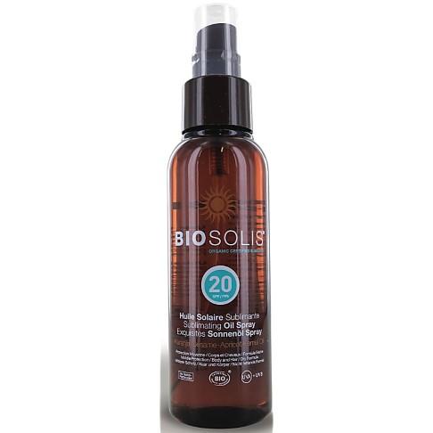 BioSolis Sublimating Sun Oil Spray - SPF 20 (100ml)