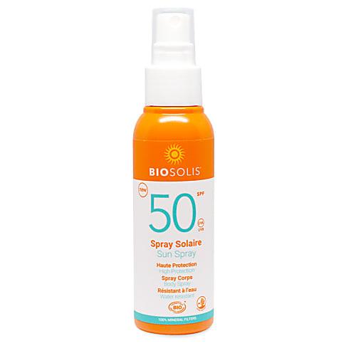 BioSolis Sun Spray - SPF 50 (100ml)