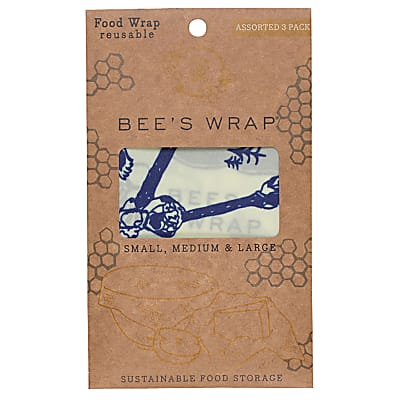 Bee's Wrap 3-pack Assorted Bees & Bears small/medium/large