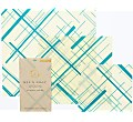 Bee's Wrap Reusable 3-pack Assorted 'Everybody's Teal' small/medium/large