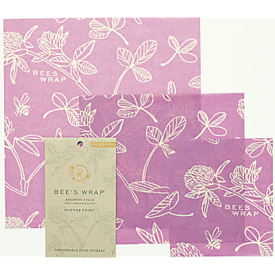 Bee's Wrap 3-pack Assorted 'Mimi's Purple' small/medium/large