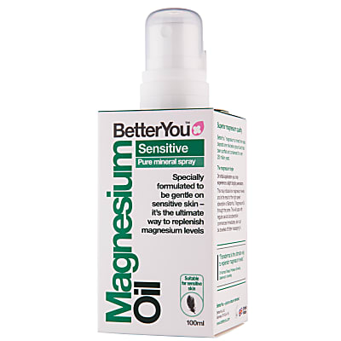 BetterYou Magnesium Oil Sensitive Body Spray
