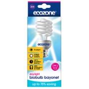 Ecozone Daylight Biobulb 25W (100W Equivalent) Bayonet Fitting
