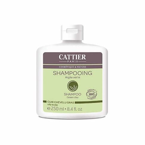 Cattier-Paris Green Clay Shampoo for an Oily Scalp