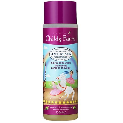 Childs Farm Blackberry & Apple Hair & Body Wash