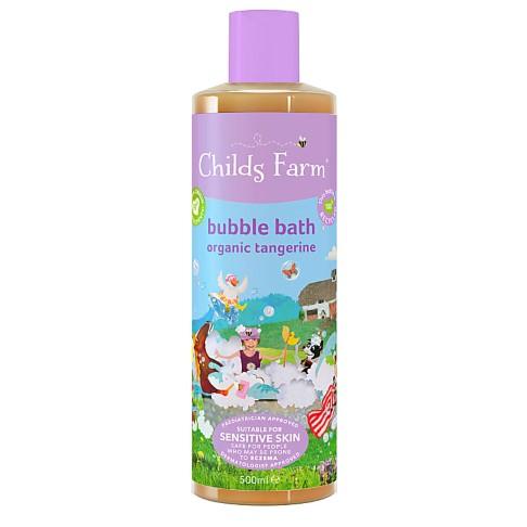 Childs Farm Organic Tangerine Bubble Bath - 500ml