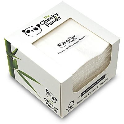 Cheeky Panda Cocktail Napkins pack of 100