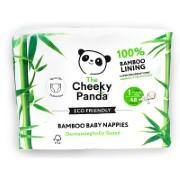 Cheeky Panda Eco-Friendly Bamboo Baby Nappies Size 1