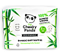 Cheeky Panda Eco-Friendly Bamboo Baby Nappies Size 3 (13-24 lbs/ 6-11 kg)