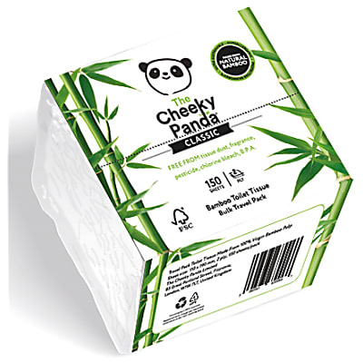The Cheeky Panda Bamboo Travel Toilet Tissue
