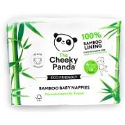 The Cheeky Panda Bamboo Baby Nappies Size 4 (19.8-30.8lbs / 9-14kg)