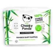The Cheeky Panda Bamboo Baby Nappies Size 5 (26.4 - 37.4lbs / 12-17kg)