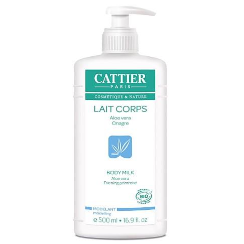 Cattier Aloe Vera and Evening Primrose Body Milk - 500 ml