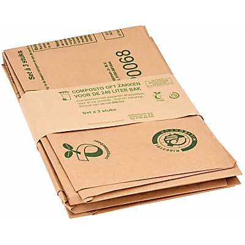 Composto 240L Compost Bags (3 bags)