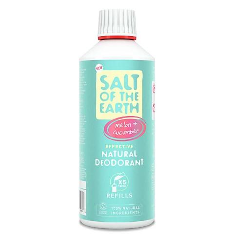 Crystal Spring Salt of the Earth Melon & Cucumber Deodorant Spray Refill