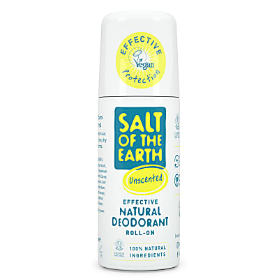 Crystal Spring Salt of the Earth Natural Unscented Roll-On 75 ml