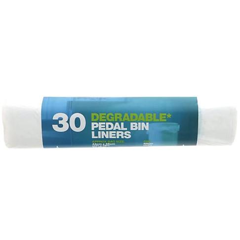 D2W 20 Litre Degradable Pedal Bin Bags (30 pack)