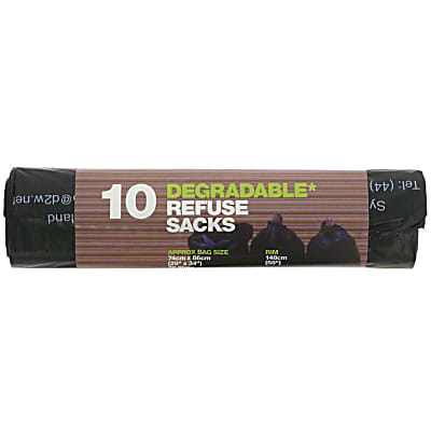 D2W Degradable Refuse Sacks (10 pack)