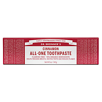 Dr Bronner's Cinnamon Toothpaste