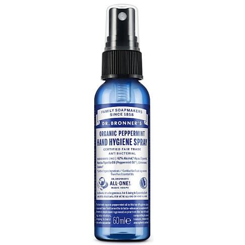 Dr. Bronner's Organic Peppermint Hand Hygiene Spray